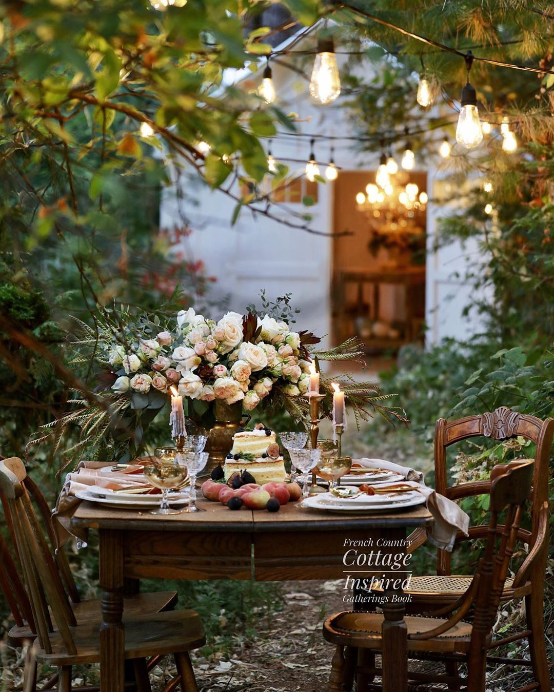 Courtney Allison On Instagram It Is French Country Cottage Inspired Gatherings Book Birt In 2020 French Country Cottage Farmhouse Table Setting French Country Garden