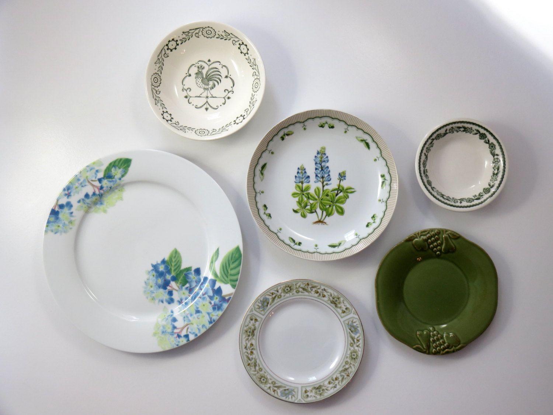 Attirant Kitchen Wall Decor, Decorative Plates, Farmhouse Decor Dining Plate Set  Vintage Antique Plate Collection