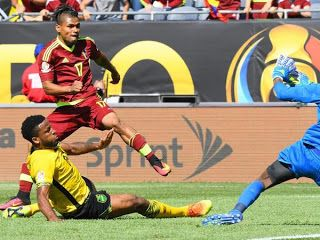 Blog Esportivo do Suíço: Venezuela estreia com vitória suada sobre Jamaica na Copa América