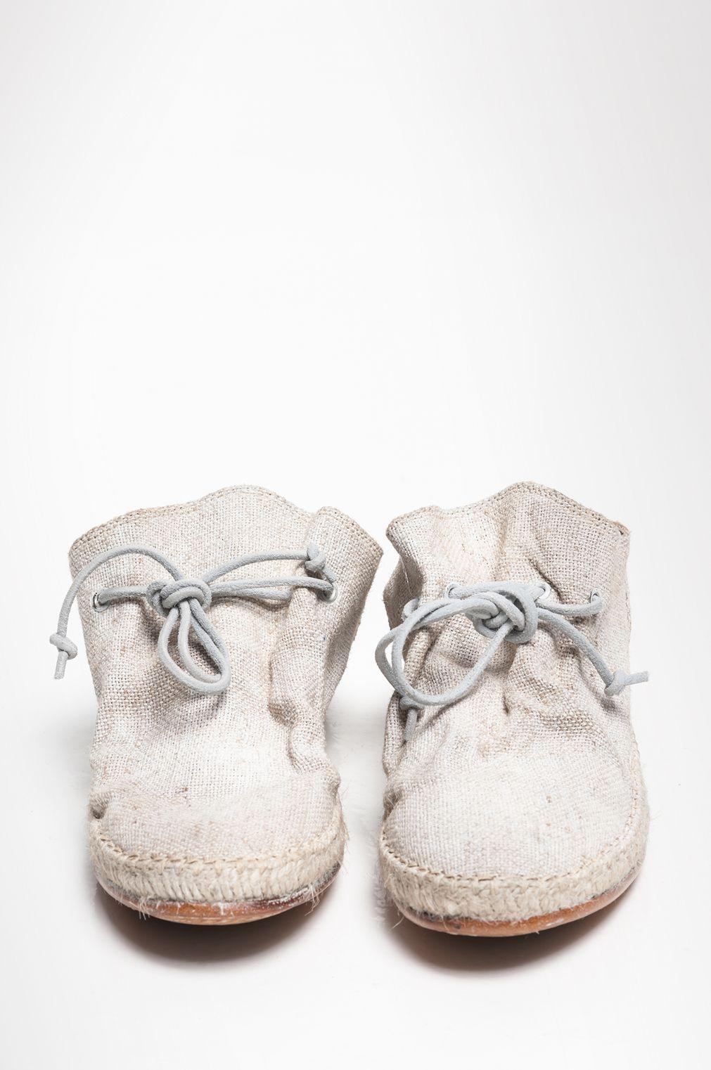 STIP LINEN › flat shoes › HUMANOID WEBSHOP