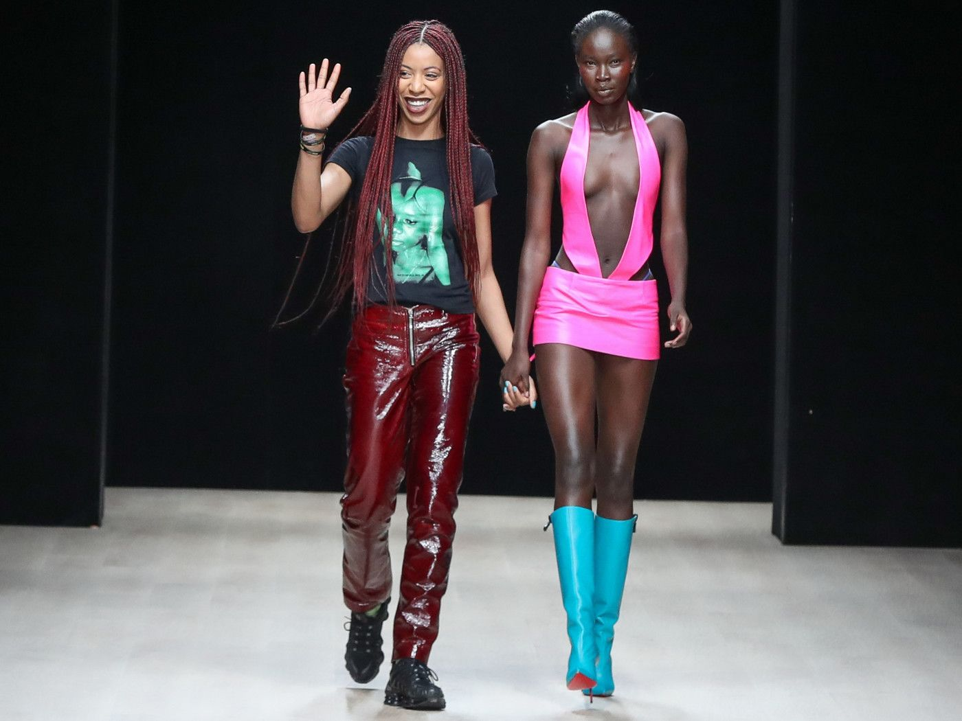Meet Mowalola Ogunlesi The British Nigerian Designer Kanye West Hired To Lead The Yeezy Gap Design Team In 2020 High Fashion Couture Outfit Inspirations Couture Fashion