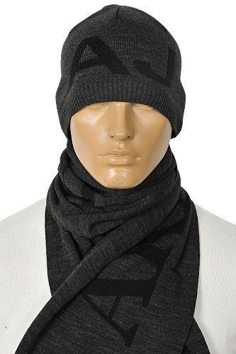 6a55e25f Emporio Armani Men's Hat/Scarf Set   Clothes   Armani men, Emporio ...