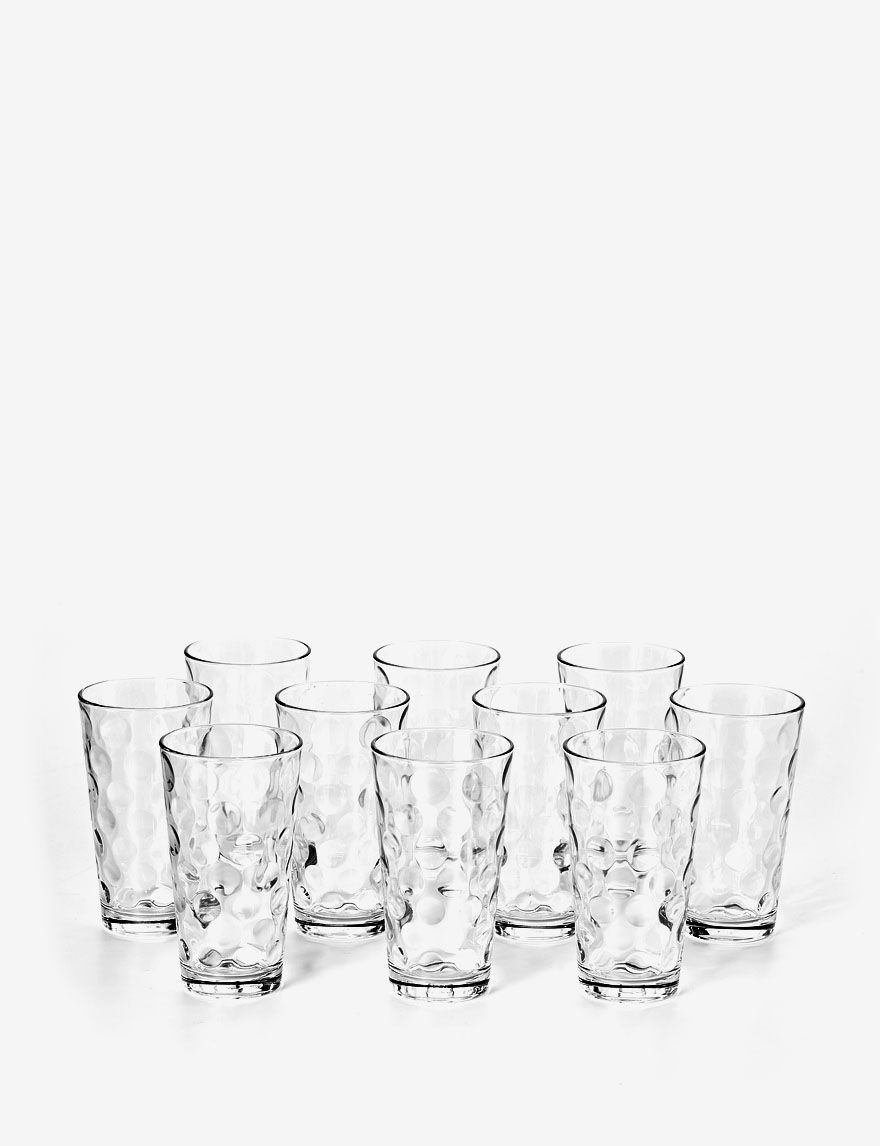 Shop today for Home Essentials Set of 10 Domino Glasses & deals on ...