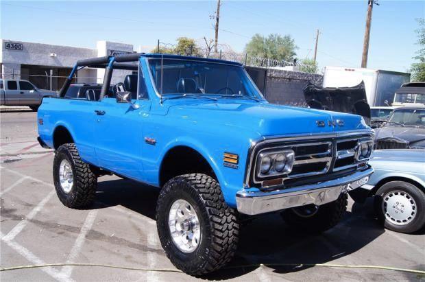 Blue Jimmy Gmc Trucks Trucks Gmc