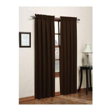 Comfort Bay Melrose Room Darkening Rod Pocket Panel 54 X 84