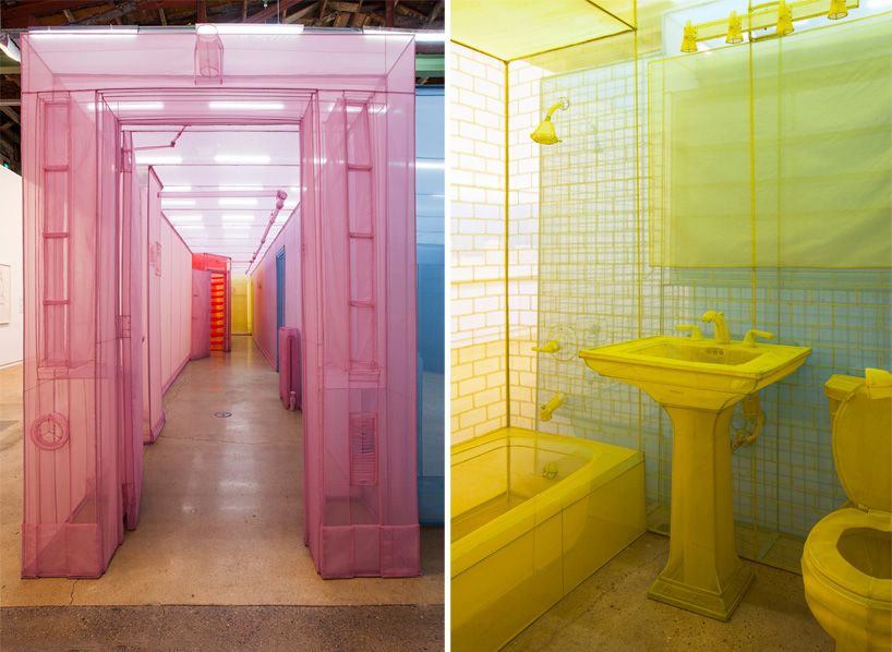 do ho suh finishes transparent new york apartment in color