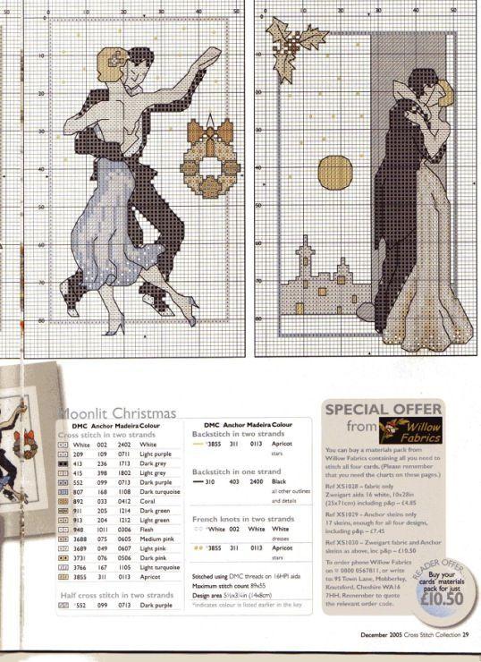 552 PUNTO Croce Kit CAMMELLI ART