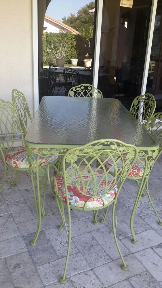 Vintage Wrought Iron Patio Furniture Brands
