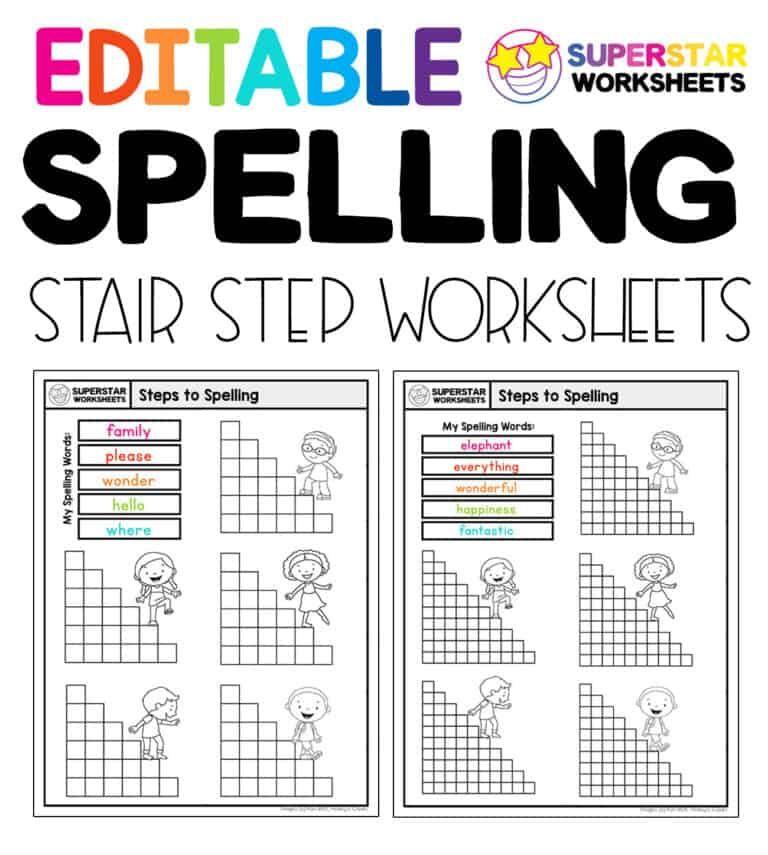 Spelling Worksheets in 2020 Spelling worksheets