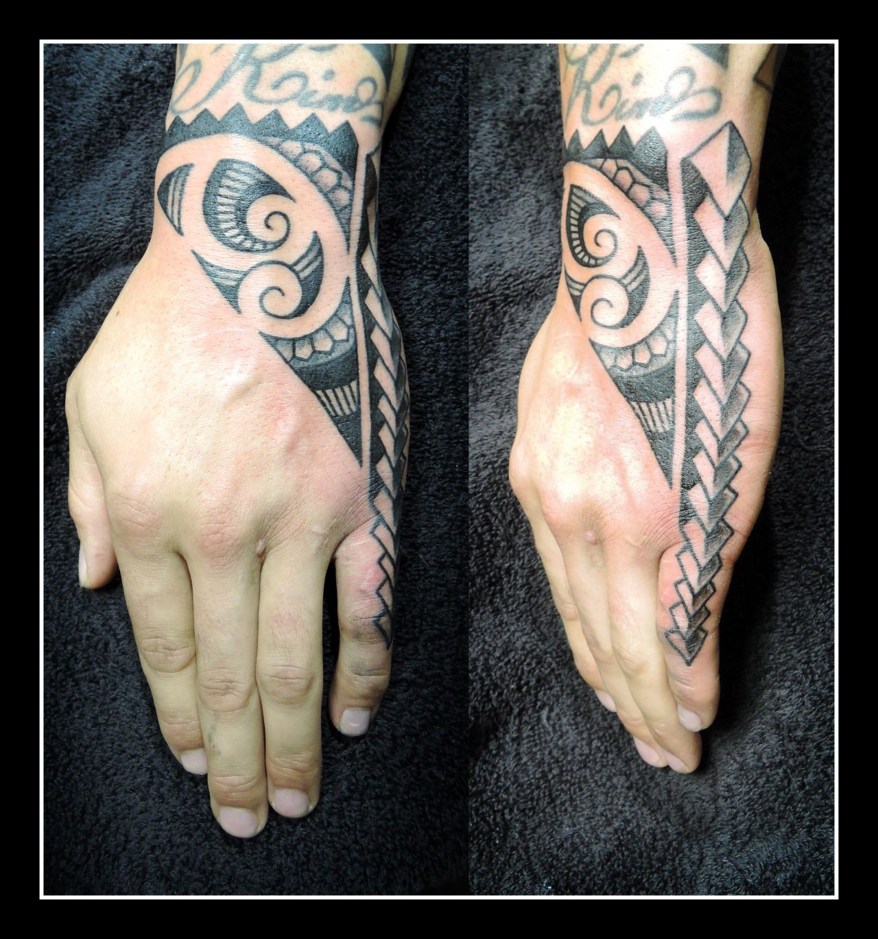 Samoan Tattoo, Hand Tattoos