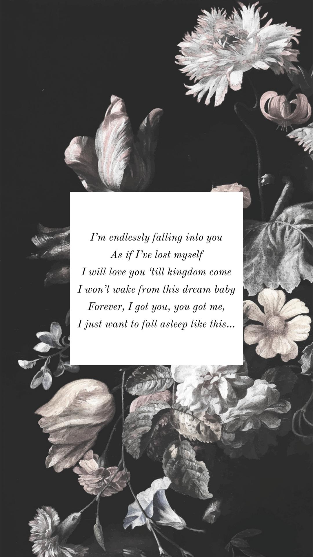 Red Velvet Kingdom Come wallpaper lyrics floral redvelvet