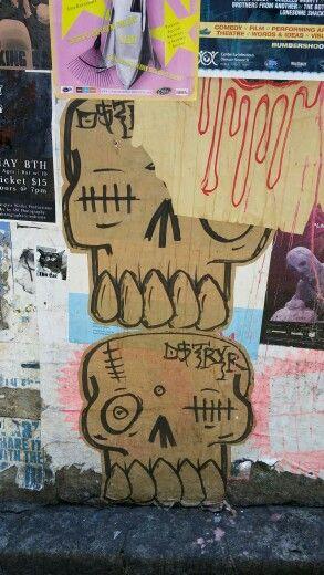 Seattle. Wall near famous gum wall.