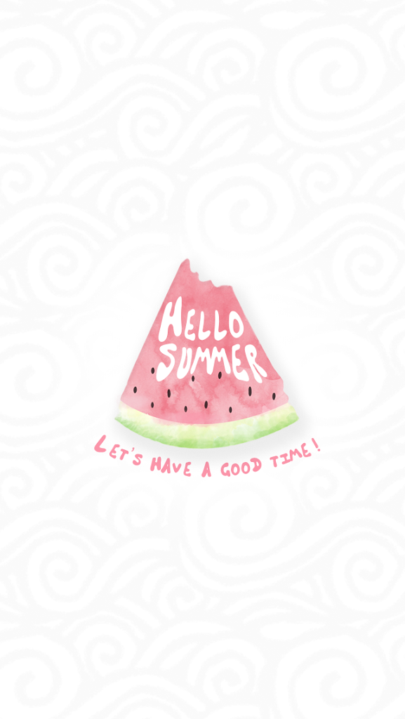 Summer Season Watermelon Lets Have A Good Time