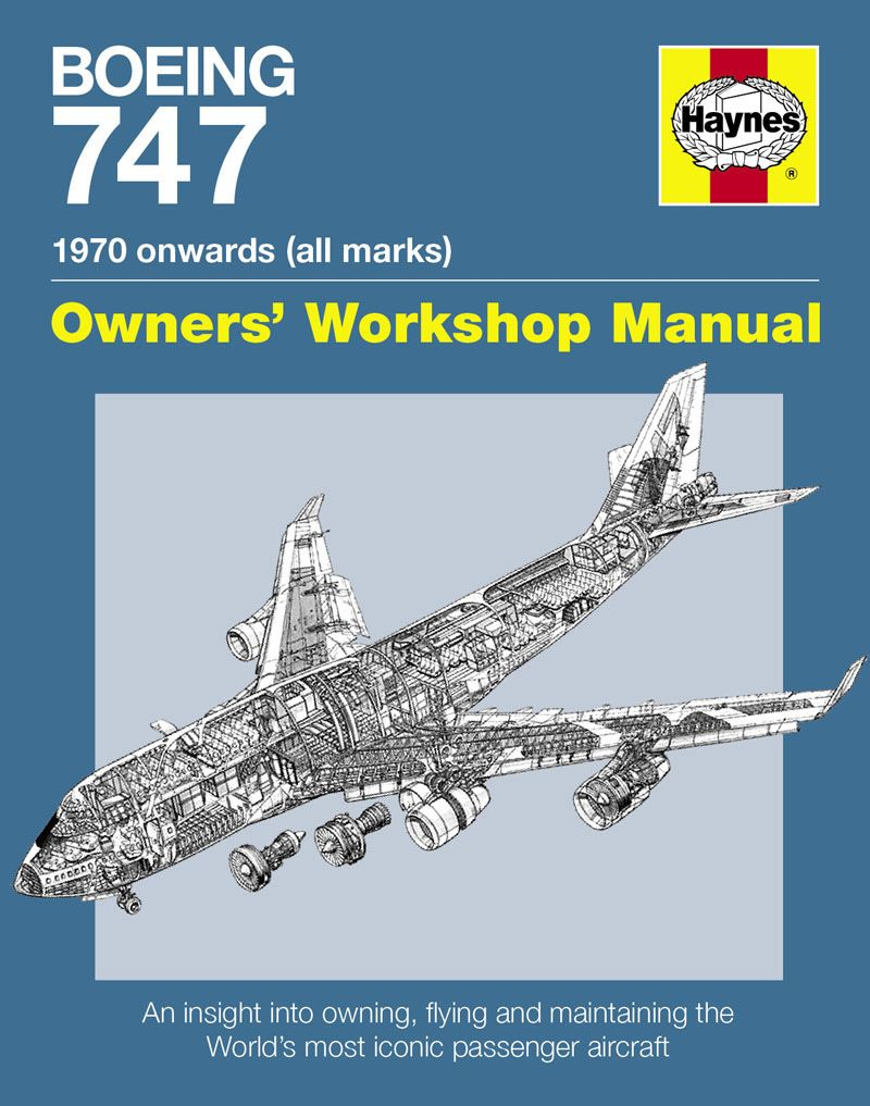 boeing 747 owners workshop manual by chris wood awesome planes rh pinterest com