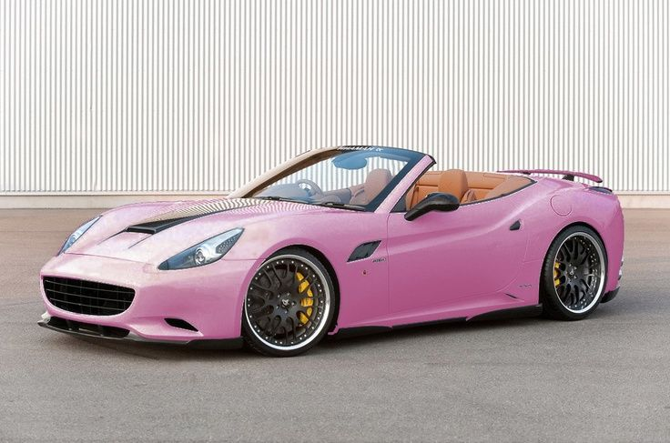 Pink Ferrari Girly Cars For Female Drivers Love Its The Dream Car Every Girl ALL THINGS PINK
