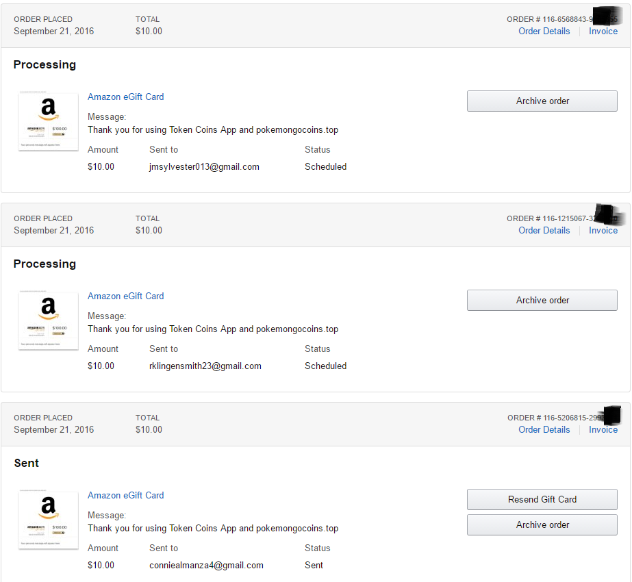 Today We Paid 30 Amazon Gift Card To Our Users Thank You To Everyone For Using Token Coins App