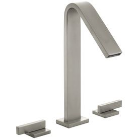 Attraktiv Kohler Loure Vibrant Brushed Nickel 2 Handle Widespread Bathroom Fauce