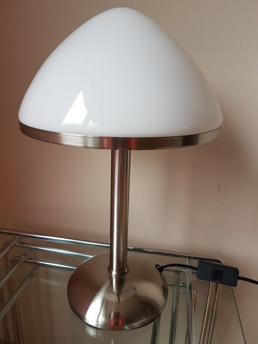 Unknown designer table light retro table lamps retro table mushroom retro table lamp made in germany in the 90s chrome foot under aloadofball Image collections