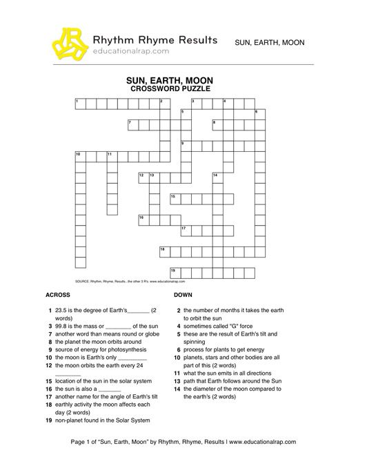 Sun Moon And Earth Worksheets Google Search The Earth And Space