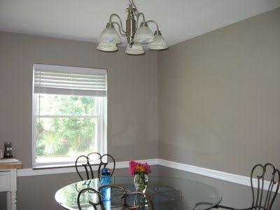 Valspar Montpelier Ashlar Gray Living Room Remodel