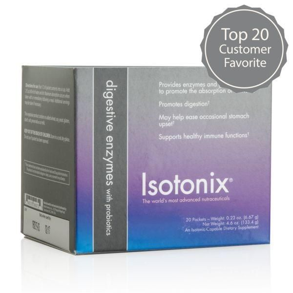 Isotonix® Digestive Enzymes with Probiotics (Packets) | Acid