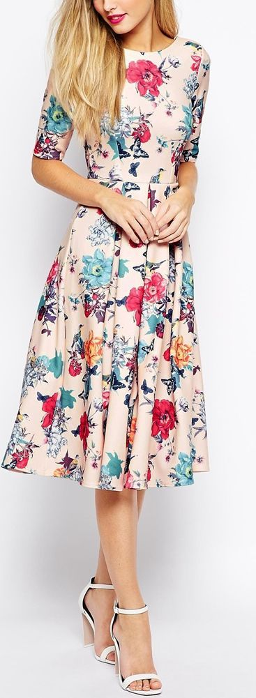 Beautiful Floral Outfit Ideas Trending 2017