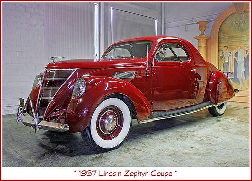 1937 Lincoln Zephyr Lincoln Cars Lincoln Zephyr American Dream Cars