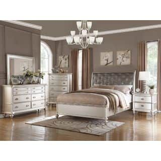 cfdee5135f5 Shop for Saveria 4-piece Bedroom Set. Get free delivery at Overstock.com -  Your Online Furniture Shop! Get 5% in rewards with Club O! - 19671927 grace