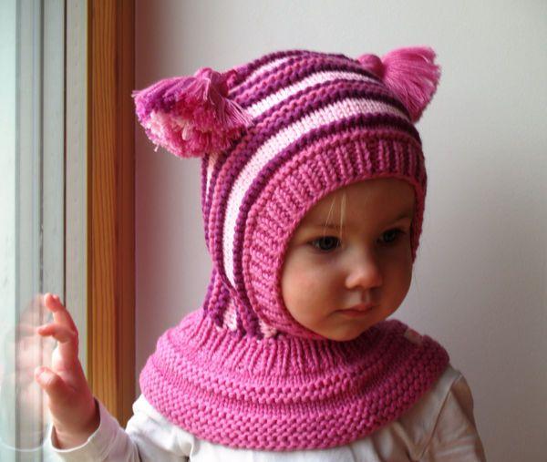 Baby balaclava\'s | Sofia - knitting | Pinterest | Mütze häkeln ...