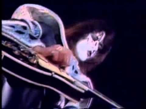 Kiss 2000 Man Ace Frehley Guitar Solo Live 1980 Ace Frehley