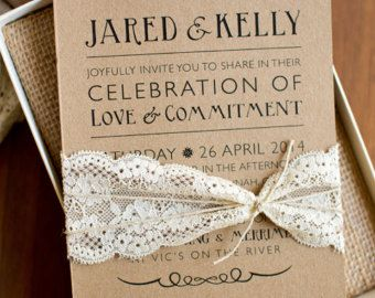 popular items for kraft paper on etsy | thing | pinterest | crafts, Wedding invitations