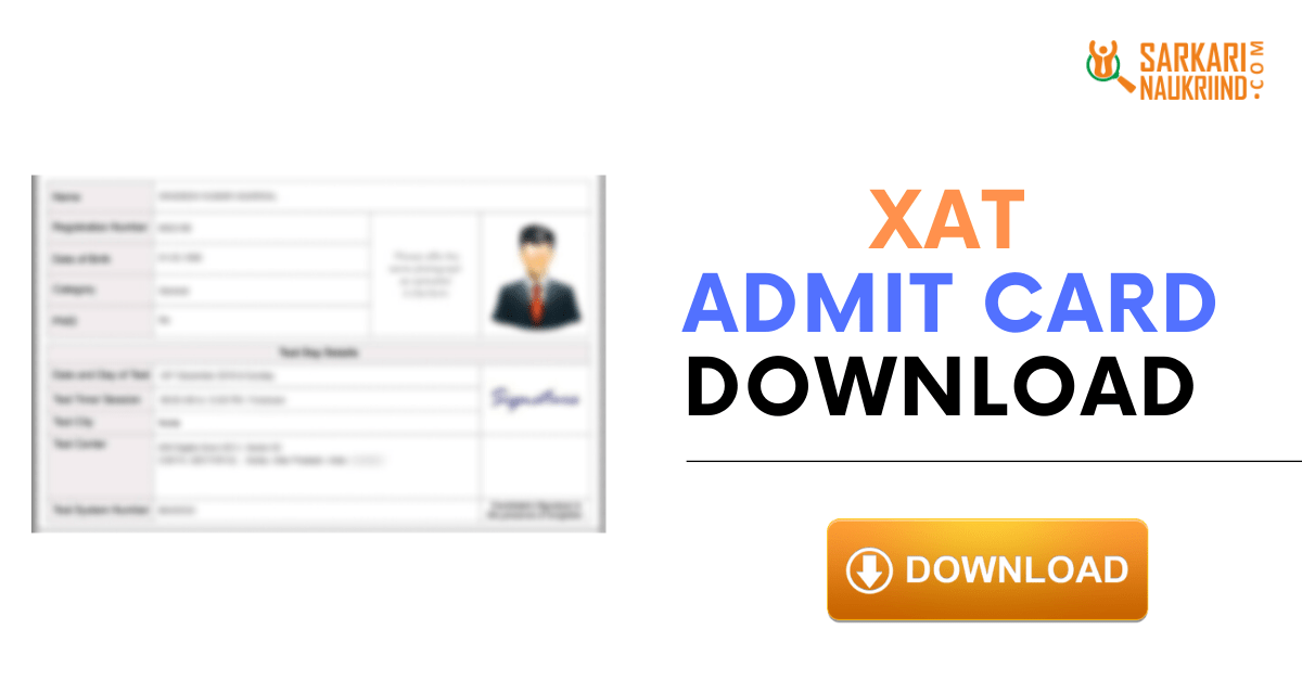 Xat Admit Card 2021 Xat Hall Ticket Download At Xatonline In Cards Card Downloads Printed Cards