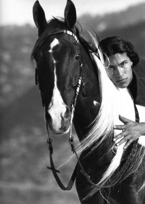 Horseback Rick Mora - Native American