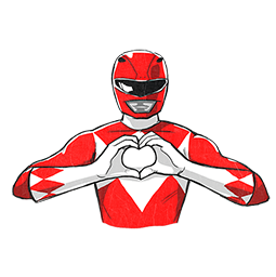 Facebook Messenger Power Rangers Stickers Free Download Power Rangers Png Stickers For Android Iphone Pc Power Rangers Ranger Colorful Backgrounds