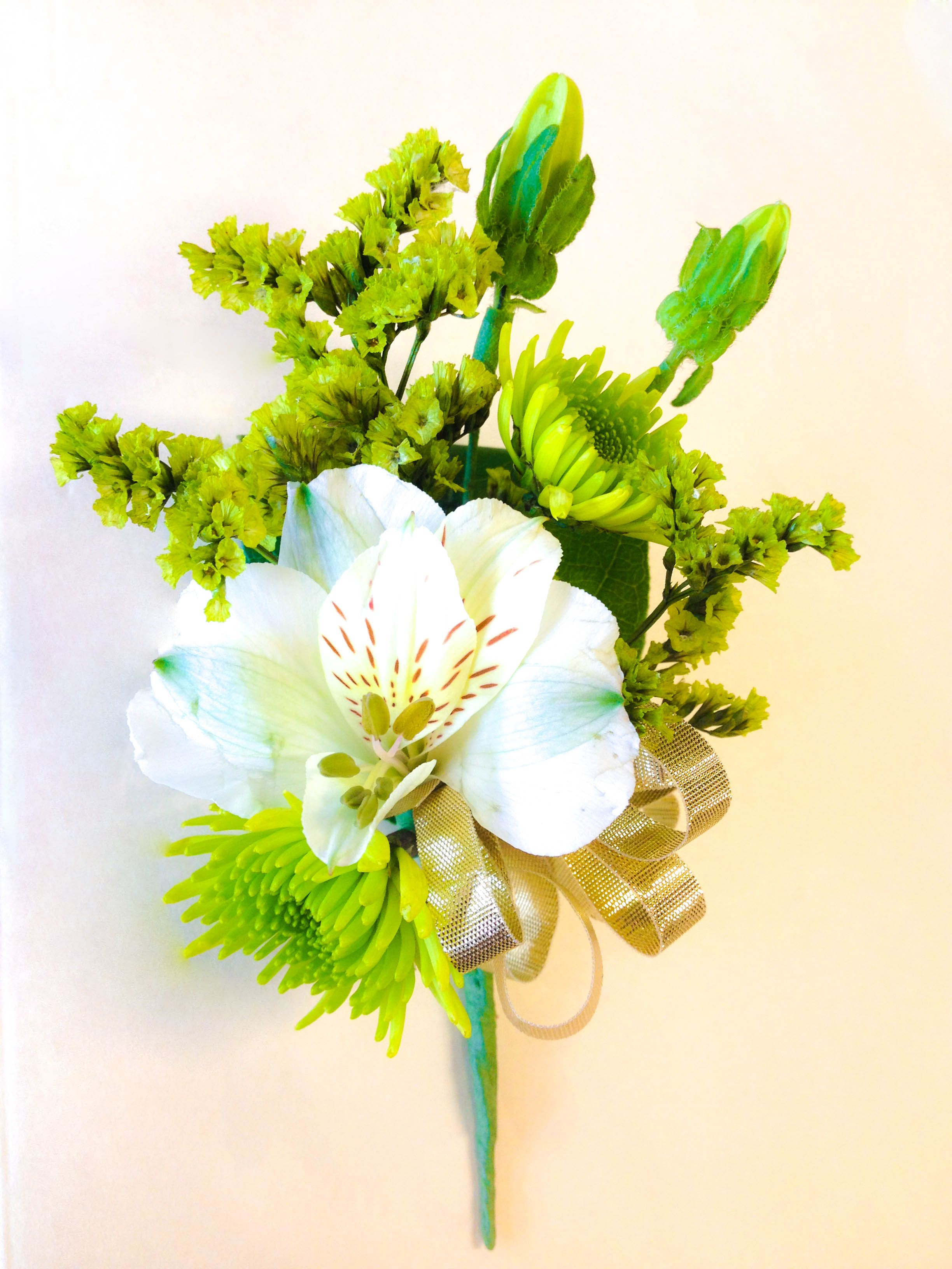 This arrangement was created by Bing Floral Design