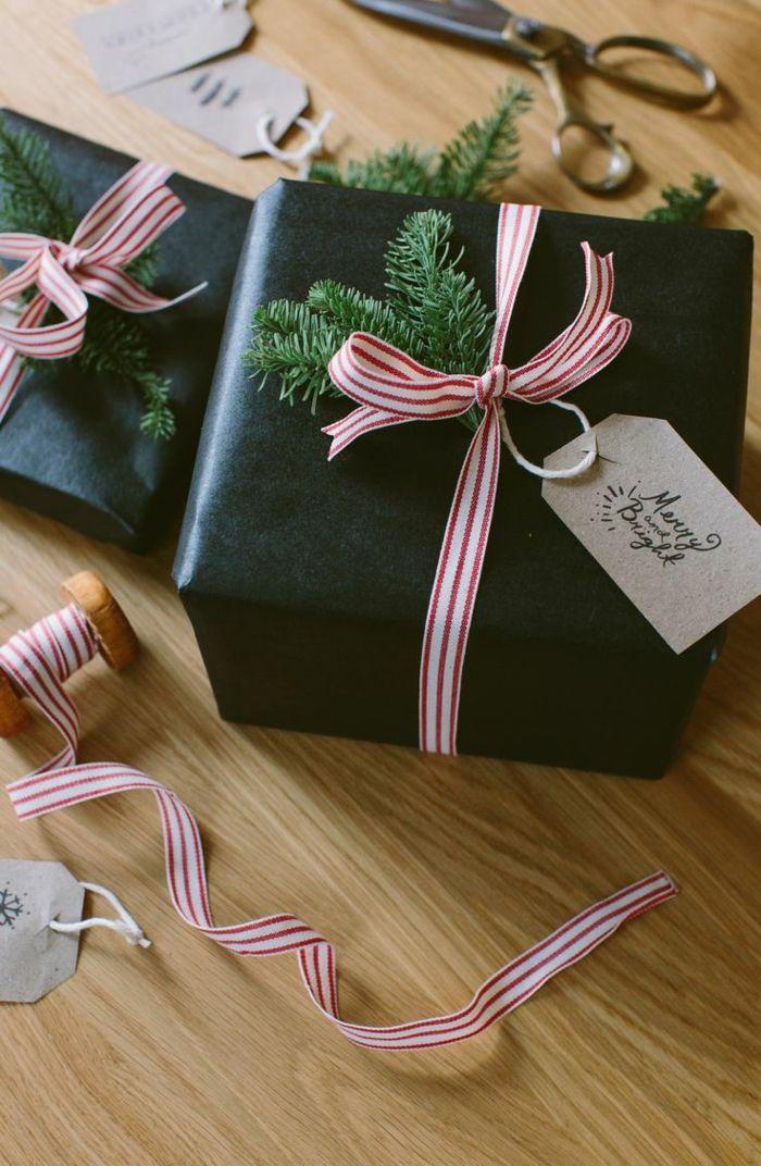ideen f r diy deko f r geschenkverpackungen mit einer anleitung weihnachtsbasteln. Black Bedroom Furniture Sets. Home Design Ideas