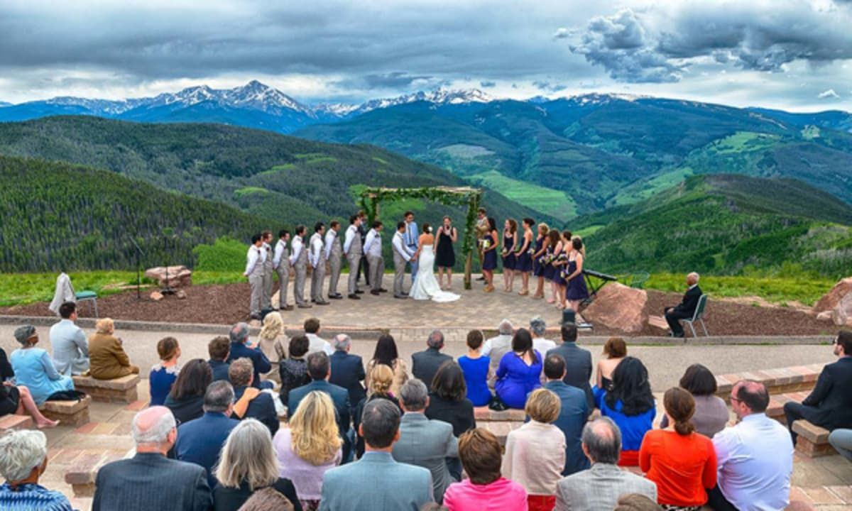 Weddings Vail Colorado Vail Wedding Deck Holy Cross Wedding Deck Wedding Vail Colorado Wedding Venues Wedding Venues