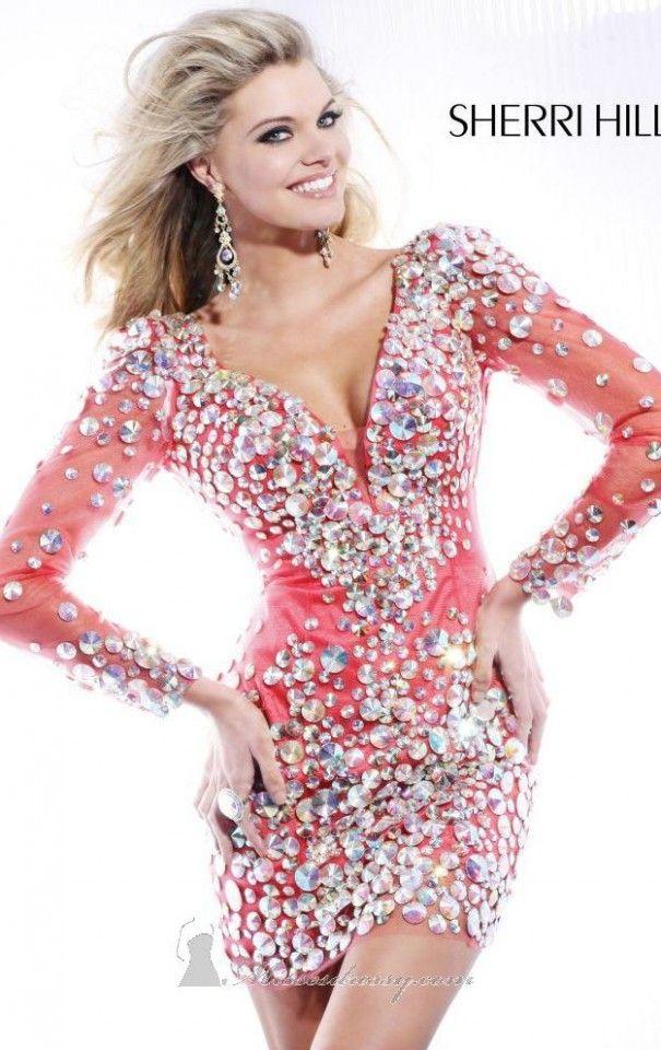 48 Sherri Hill Prom Dresses 2013 | Vestidos cortos, Vestiditos y Belleza
