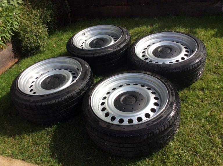 Banded Steel Wheels 18 Vw T5 T6 5x120 Tamar Wheels In 2020 Steel Wheels Vw T5 Vw Wheels
