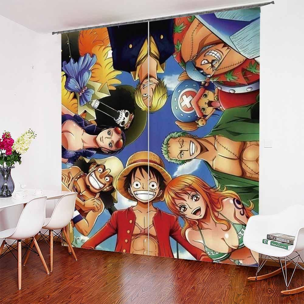 One Piece Series Curtains In 2020 One Piece Series Curtain