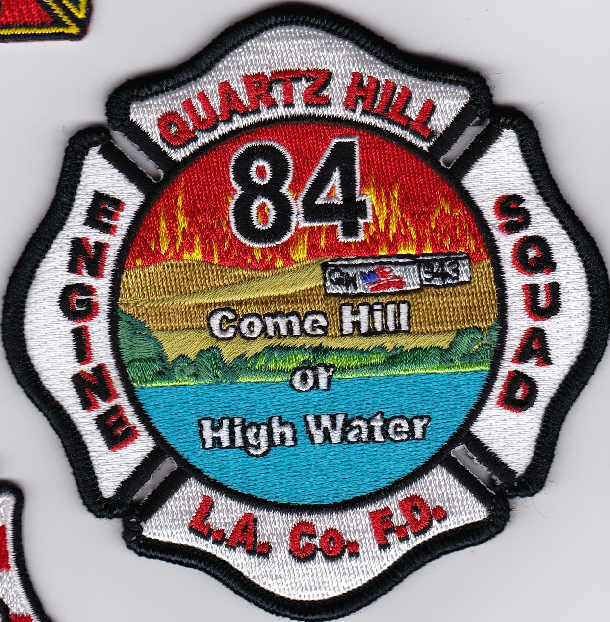 Los Angeles County Fire Department Station 84 Current Fire Department Fire Service Ems Patch