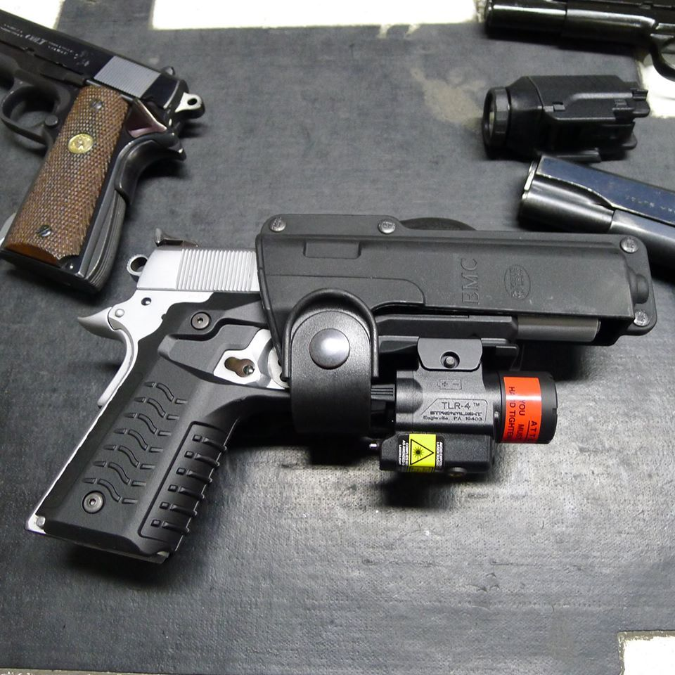 ReCover Tactical Grip and Rail System | 1911 grips, Guns and ...