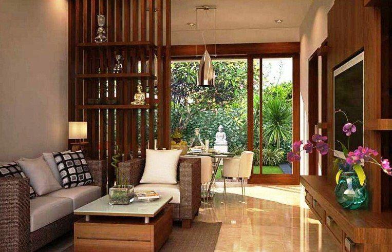 Sekat Pembatas Ruang Tamu Dan Ruang Keluarga | Desain