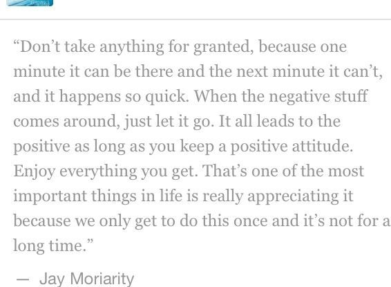 jay moriarity quotes - Google Search | Quotes, Best quotes ...