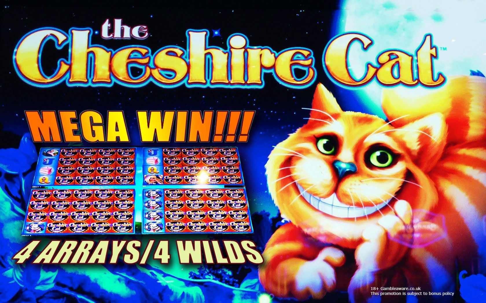 Cheshire Cat Get £5 No Deposit Bonus Monster Casino
