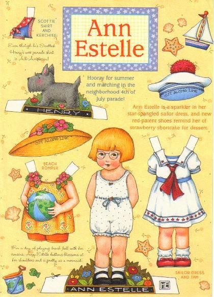 Ann Estelle- marching in the 4th of July parade