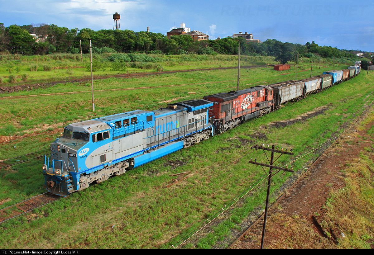 Net Photo 9829 Rumo ALL GE AC44i At Araraquara Brazil By
