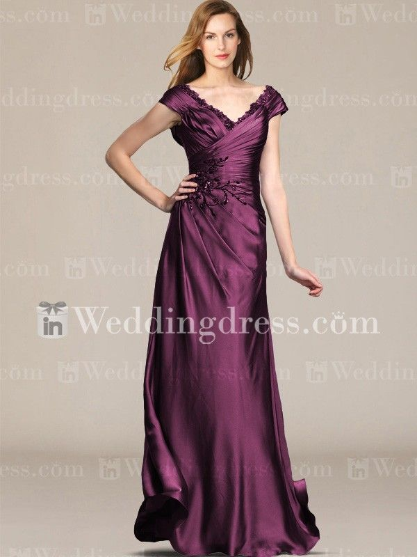 Mother of the Bride Long Dresses_Berry