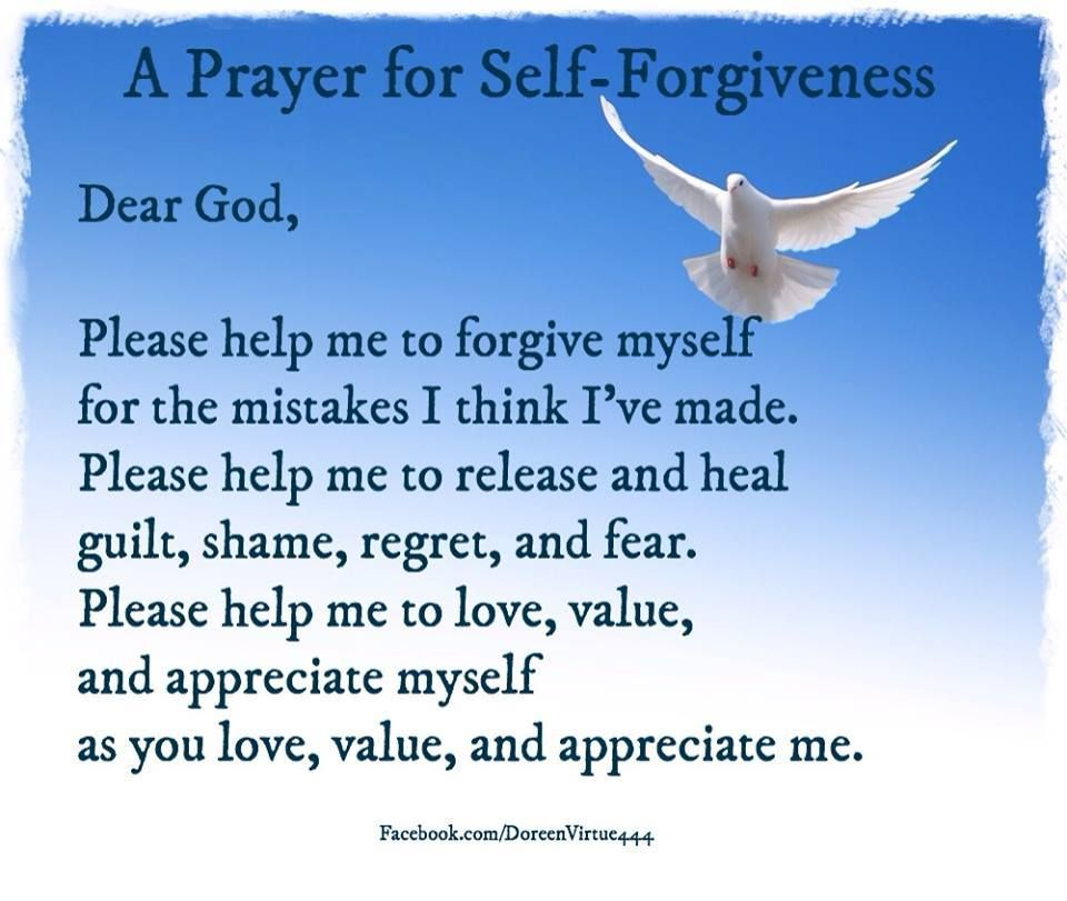 Prayer to help forgive someone