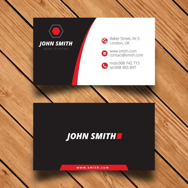 Modern corporate business card template free vector logo modern corporate business card template free vector accmission Gallery